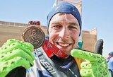 Pamatykite: antrąjį savo Dakarą užbaigęs A.Gelažninkas mėtomas į orą
