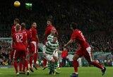 """Viltys sudužo į šipulius: """"Sūduva"""" išvykoje nusileido """"Celtic"""" ekipai"""