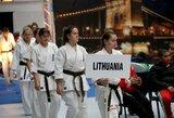 Įtemptų kovų maratone Lietuvos karatė kovotojams titulų apginti nepavyko
