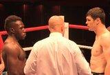 Profesionalų bokso ringe – E.Korsako lygiosios