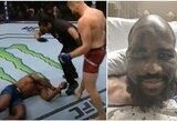 UFC nokauto ir prasto medikų darbo kaina: 30-mečiui buvo sustojusi širdis