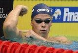 Rusus triuškinęs ir pasaulio rekordo tempą lenkęs D.Rapšys iškovojo auksą!