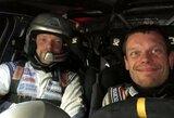 """Pirmąją """"Winter rally"""" dieną greičiausi – V.Žala ir A.Malnieks"""