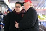 """""""D.Trumpas ir K.Jong Unas"""" išvaryti iš olimpiados atidarymo ceremonijos, vietinė moteris prašė bombarduoti Šiaurės Korėją"""