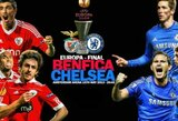 """Europos lygos finalas: """"Benfica"""" – """"Chelsea"""""""