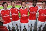 """Pristatyta nauja """"Arsenal"""" klubo kito sezono apranga"""