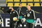 """M.Neueris: """"Niekuomet neturėjau problemų su M.A.Ter Stegenu"""""""