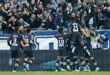 """""""Bordeaux"""" įveikė dešimtyje rungtyniauti likusius """"Monaco"""" futbolininkus"""