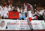 """""""Nantes"""" ir """"Guingamp"""" prisijungė prie """"Ligue 2"""" čempiono """"Monaco"""""""
