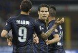"""""""Inter"""" klubas namuose sutriuškino """"Lazio"""""""