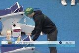 Puikiai plaukusi A.Šeleikaitė – pasaulio taurės finale