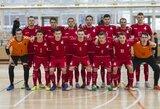 Lietuvos futsal rinktinė pirmą kartą išbandys jėgas su Kirgizija