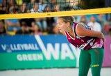 I.Zobnina ir U.Andriukaitytė Europos jaunimo čempionatą pradėjo triuškinančiu pralaimėjimu