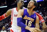 """Lakers"" savaitei neteko P.Gasolio"
