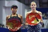 """US Open"" čempionę turnyro Tokijuje finale sustabdė K.Pliškova"