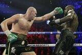 T.Fury prieš D.Wilderį: kiek milijonų pasidalins boksininkai?