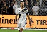 """Z.Ibrahimovičius: """"Jei išvyksiu, niekas neprisimins MLS lygos"""""""
