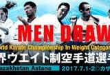 Kiokušin karatė kovotojai sužinojo savo kliūtis kelyje į pasaulio čempionato viršūnę