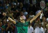 Svajonių finalas įvyks: R.Federeris išplėšė pergalę po trijų pratęsimų