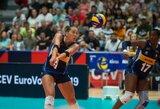 I.Sorokaitė su Italijos rinktine artėja link Europos čempionato medalių