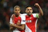 """""""Monaco"""" dar kartą sudorojo """"Borussia"""" gynybą ir žais Čempionų lygos pusfinalyje"""