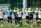 Slovakų futbolo rinktinės susikaupęs sezoninis nuovargis gali tapti nežymiu lietuvių pranašumu
