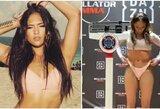 """Iš """"Telemundo"""" – į MMA narvą: """"Bellator"""" gražuolė perspėjo varžoves"""