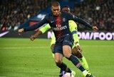 K.Mbappe ir Neymaro įvarčiai padovanojo PSG dvyliktąją pergalę vietiniame čempionate
