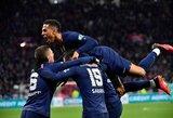 """Antrame kėlinyje """"Lyon"""" ekipą sutraiškę PSG žengė į Prancūzijos taurės finalą"""