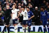 """Anglijos futbolo federacija atmetė """"Tottenham"""" apeliaciją: paaiškėjo, kiek laiko rungtyniauti negalės H.M.Sonas"""