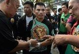 Po nokautu Tailande pasibaigusios kovos F.Mayweatheris prarado vienvaldžio visų laikų rekordininko statusą