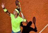 D.Goffinas nutraukė R.Nadalio laimėtų setų seriją