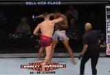 """Lietuvio """"nuskriaustas"""" Neymaro apsauginis UFC narve varžovą nokautavo per minutę"""