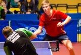 Europos jaunių stalo teniso čempionatas: vaikinai įveikė suomius, o merginos grupėje liko be taškų