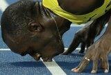 """Rekordo nepagerinęs U.Boltas pripažino: """"Aš senstu ir nebesu toks, koks buvau jaunas"""""""
