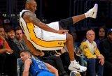 Paskaičiuota, kurią vietą brangiausių visų laikų NBA žaidėjų rikiuotėje užims karjerą baigsiantis K.Bryantas