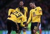 Belgija draugiškose rungtynėse sutriuškino Škotiją