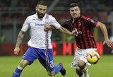 """""""Napoli"""" rungtynių pabaigoje išplėšė lygiąsias su """"AS Roma"""""""
