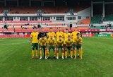 Lietuvos U22 futbolo rinktinė turnyrą baigė pralaimėjimu australams