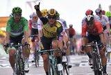 "Septintajame ""Tour de France"" etape pergalę išplėšė D.Groenewegenas"