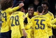 """Jauniems žaidėjams šansą suteikęs """"Arsenal"""" pateko į kitą Anglijos FA taurės etapą"""