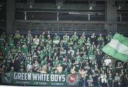 """""""Green White Boys"""" apie """"Ryto"""" –""""Žalgirio"""" rungtynėse įvykusią provokaciją: """"Ar visa bendra situacija daro garbę tribūnai? Ne"""""""