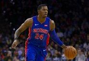 """""""Pistons"""" atleido J.Johnsoną"""