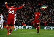 """Charakterį pademonstravę """"Liverpool"""" iškovojo sunkią pergalę prieš """"West Ham United"""""""
