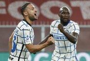 """""""Inter"""" išvykoje užtikrintai susitvarkė su """"Genoa"""""""