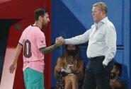 """""""Barcelona"""" gynėjas S.Roberto apie naują trenerį: """"Jis privertė mus dirbti treniruotėse"""""""