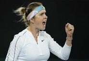 """Praėjusių metų """"Australian Open"""" sensacija krito jau antrajame rate, E.Svitolinai teko žaisti po vidurnakčio"""