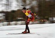 Ilgiausiose pasaulio biatlono taurės lenktynėse daugelis lietuvių strigo šaudykloje, prancūzai užėmė keturias pirmąsias vietas