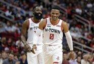 """Rockets"" jau ruošiasi atkrintamosioms su ""Nuggets"""