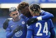 """T.Abrahamo pelnytas """"hat-trickas"""" atvėrė """"Chelsea"""" duris į kitą FA taurės etapą"""